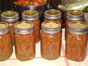 TSG: Canning Picante Sauce With Heirlooms