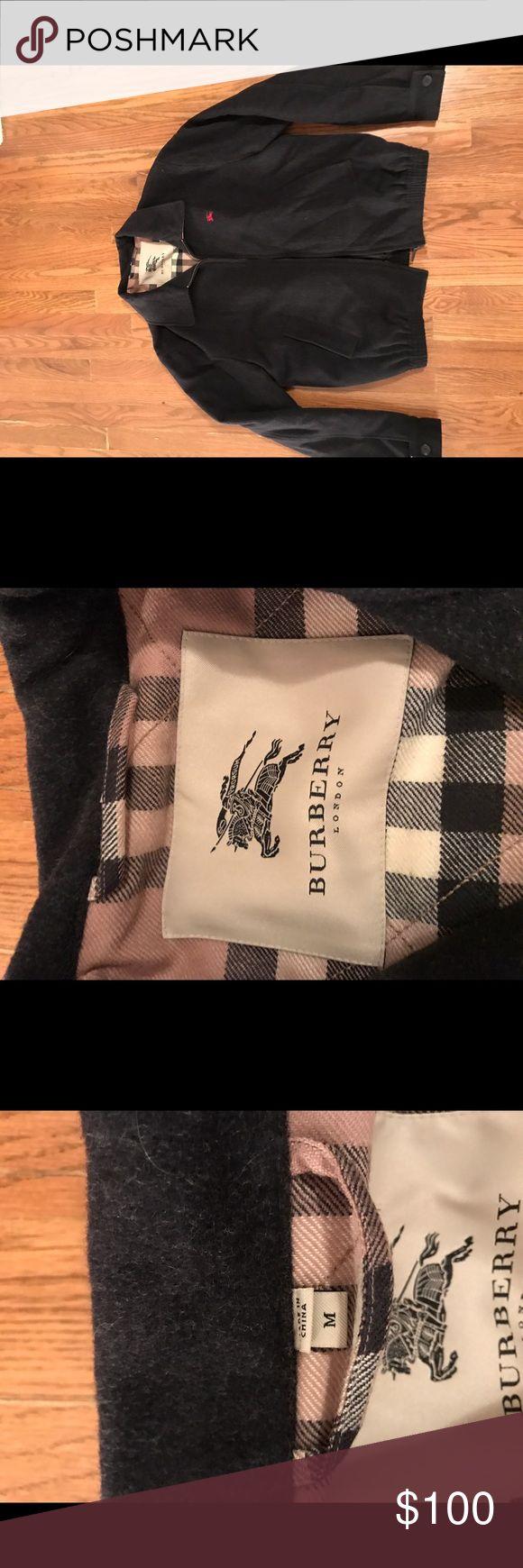 Burberry bomber jacket Burberry bomber jacket - new - charcoal grey Burberry Jackets & Coats Bomber & Varsity