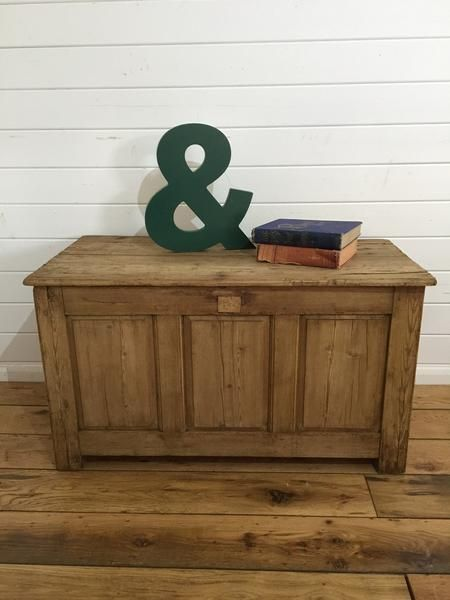 Victorian Storage Box - Lovingly Made Garden & Home Vintage Boutique Sussex - Vintage Furniture