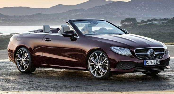 2018 Mercedes-Benz E-Class Convertible Looks Better Than Ever [69 Pics] #Galleries #Geneva_Motor_Show