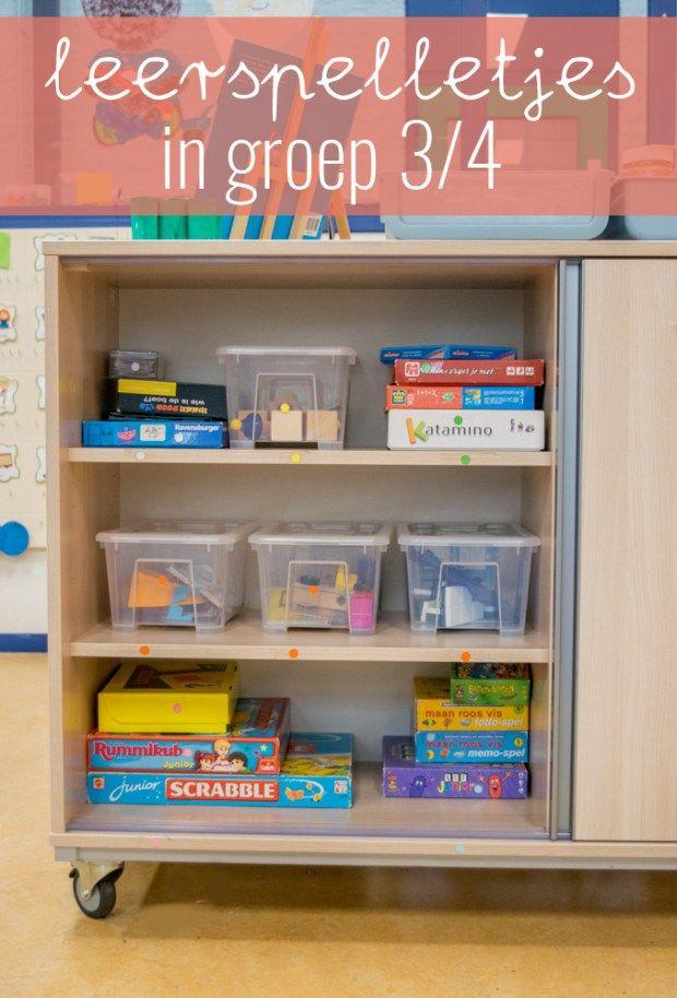 Leerspelletjes in de klas spelenderwijs leren