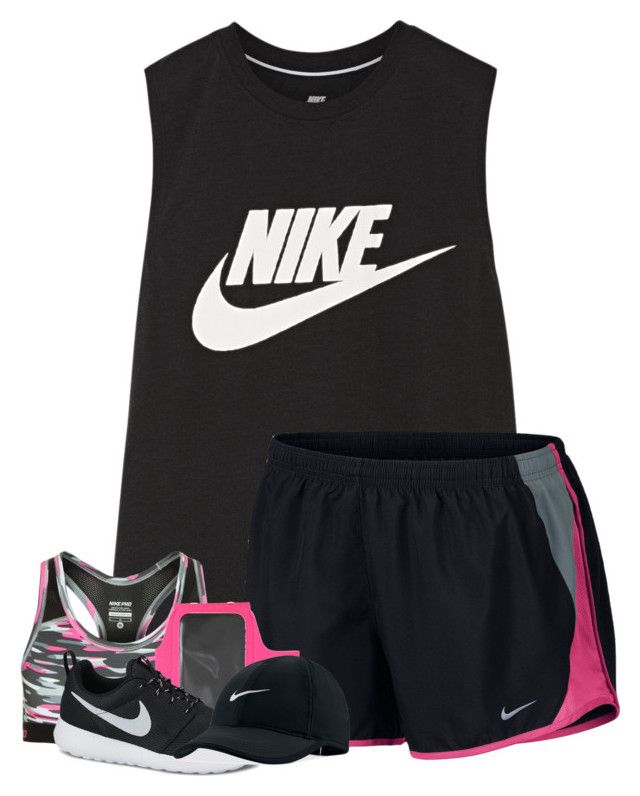 """Just went on Nike shopping spree"" by breezerw ❤ liked on Polyvore featuring NIKE"