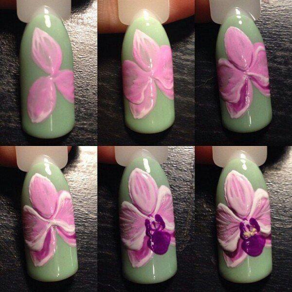 Фото ногти Дизайн Реалистичные цвета гель лака's photos