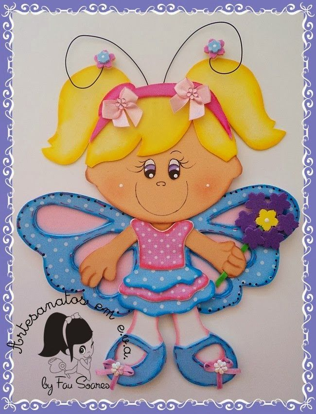 NiñaMariposa http://manualidadesamigas.foroargentina.net/