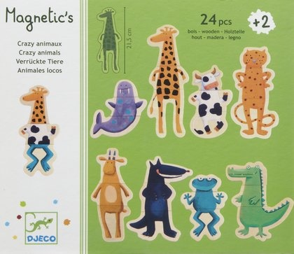 djeco crazy animals magnetics