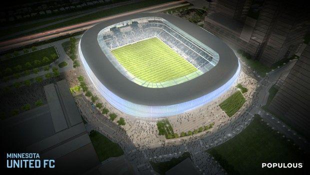 Minnesota United FC reveal renderings for new 20,000 seat stadium   MLSsoccer.com