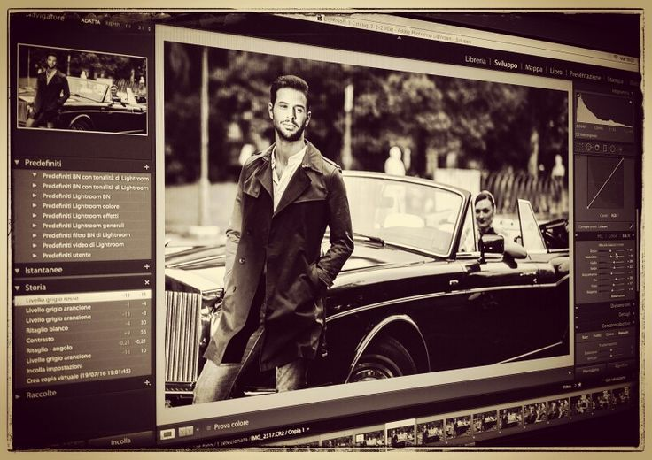 Rolls Royce theme... photoshooting in Rome
