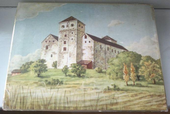 Pahvinen makeisrasia Turun linna