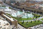 Main square in front of the citadel, Erbil, Kurdistan