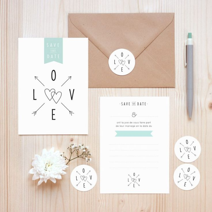 Kit SAVE THE DATE | Zü – Boutique