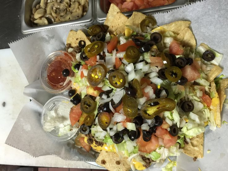 Our Nachos are a HUGE hit here at Total Sports!