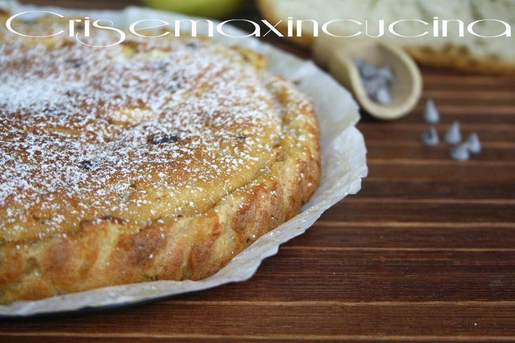 Torta di pane raffermo, ricetta con le mele