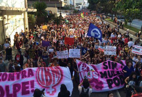 G.H.: Manifestação em São Paulo mobiliza milhares de pes...
