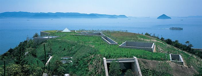 Chichu Art Museum in Naoshima by Tadao Ando