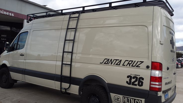 Mercedes Sprinter 4x4 With Aluminum Off Road Roof Rack And