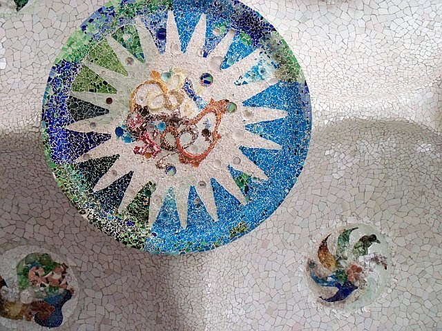 Park Guell in Barcelona, Spain - Gaudi