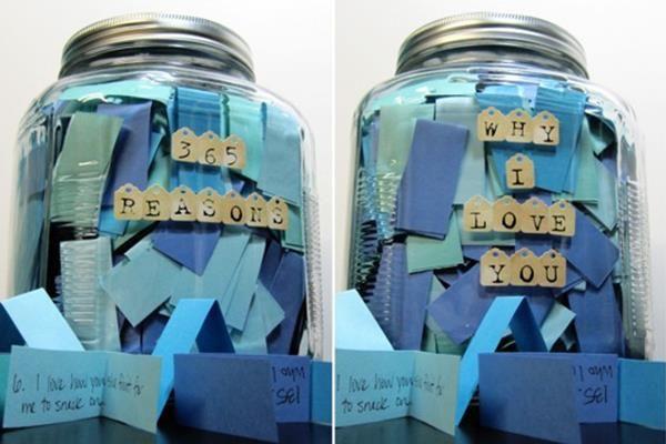 365 ok, amiért szeretlek – készítsünk személyre szóló ajándéküveget!