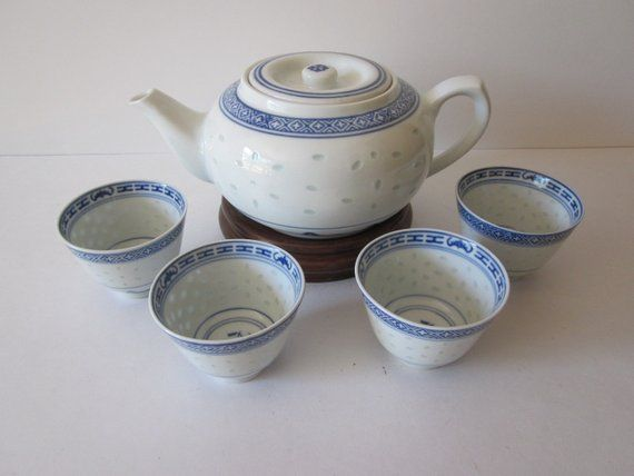 EXQUISIT OLD BLUE AND WHITE GLAZE HAND-PAINTED CHARACTER POT
