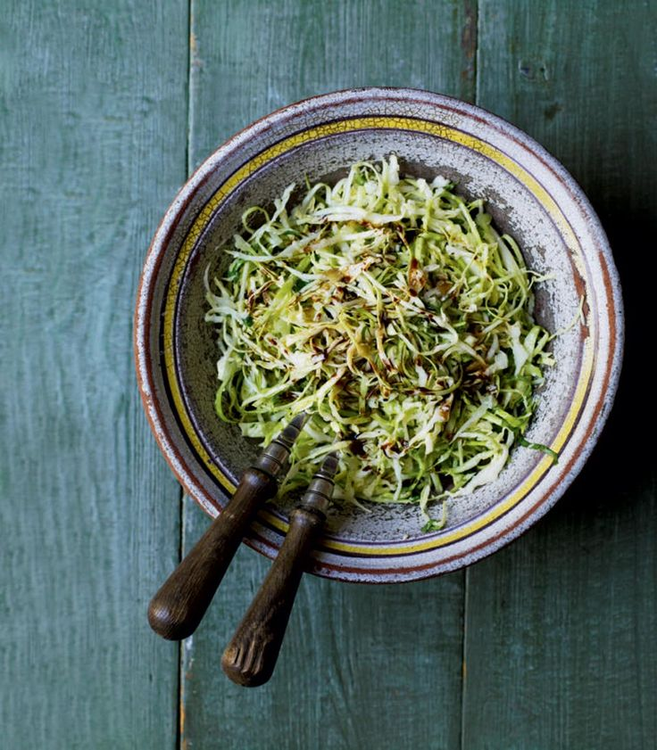 This vegetarian cabbage salad with parmesan from Debbie Major goes perfectly with leftover cold meats, especially ham and turkey.