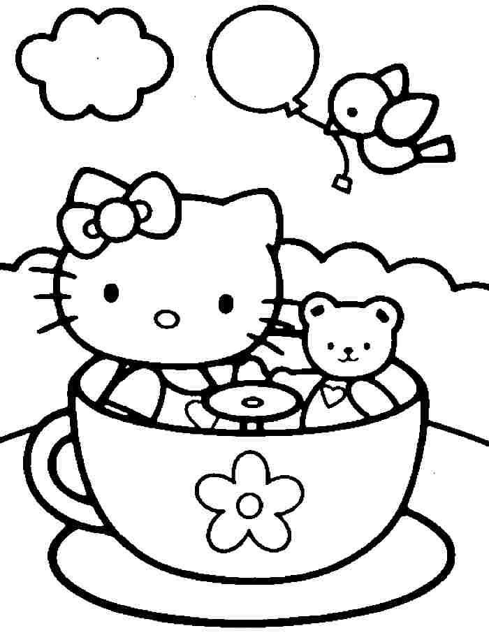 Hello Kitty Teacup Ride