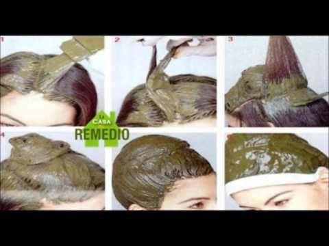 Esta es la mejor manera para teñir el cabello totalmente de una forma na...