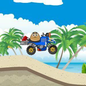 Pou beach ride - Jocuri cu masini - Jocuri100.ro