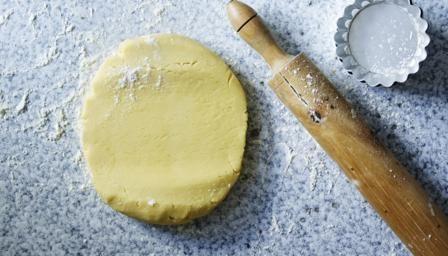 Pâte sucrée (sweet shortcrust pastry)
