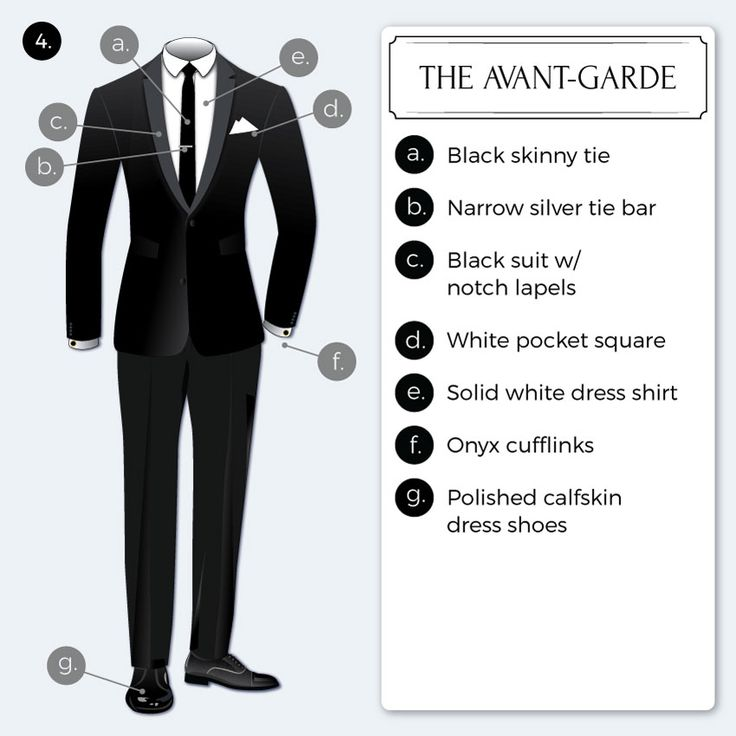 Simple Black Tie Dress Code  TieaTienet
