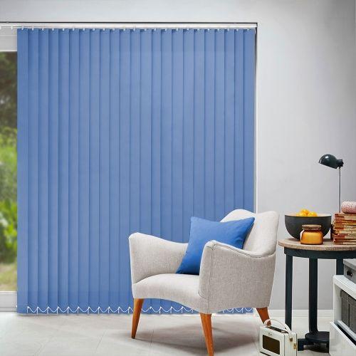 Acacia Blue Vertical Blind