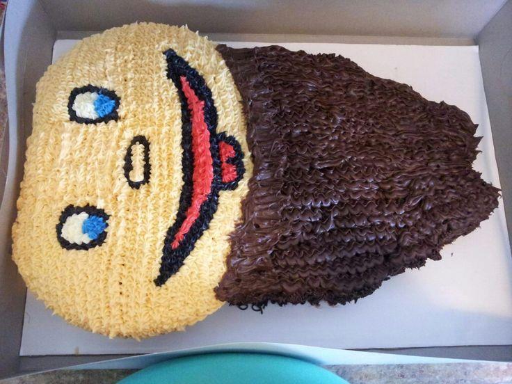 Baby birthday cake-Duck Dynasty inspired!
