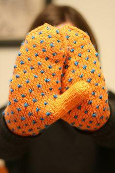 Grumperina's Thrummed mittens