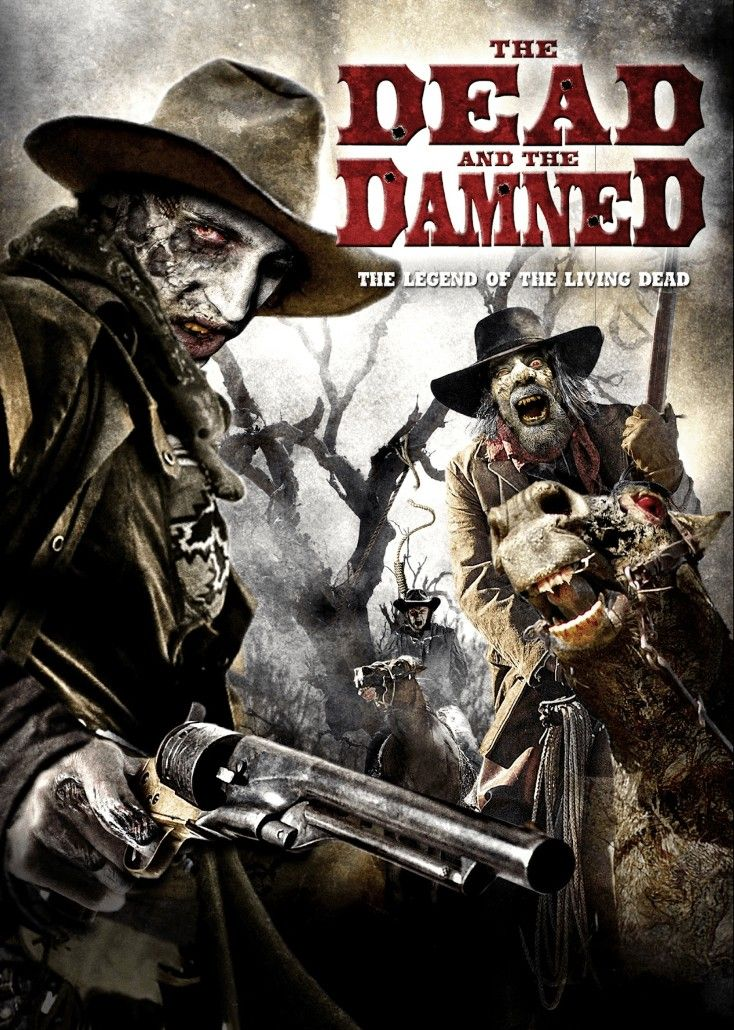 The Dead And The Damned (2010) Movie covers, Action