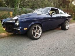 1973 Chevrolet Vega Hatchback Rerun Muscle Car by avewhtboy http://www.musclecarbuilds.net/1973-chevrolet-vega-hatchback-rerun-build-by-avewhtboy