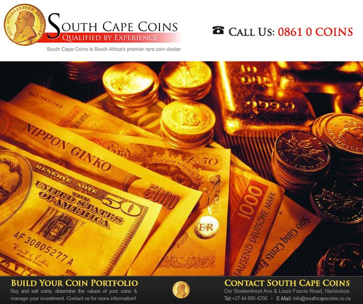 Investments made on rare coins are done with the expectation that their numismatic or collector value will increase. Rare coins are quite valuable, but what is a rare coin? We can help you make sure you invest in rare and valuable coins in order to grow yoru portfolio. For more information about our products and services enquire now at Web: http://anapp.link/5D0 or Mobile: http://anapp.link/5D1. #SouthCapeCoins #investment