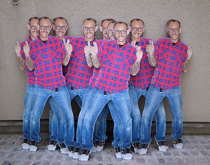 Terry Richardson cut-outs