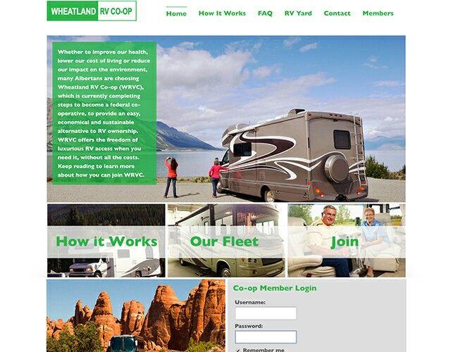 Wheatland TV Co-op website by Airdrie Web designer Kreativekekeli.com. Visit site @ http://www.wrvc.ca #webdesign #airdriewebdesign #airdriewebdevelopment