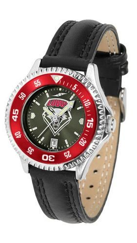 New Mexico Lobos Ladies Watch AnoChrome Wristwatch