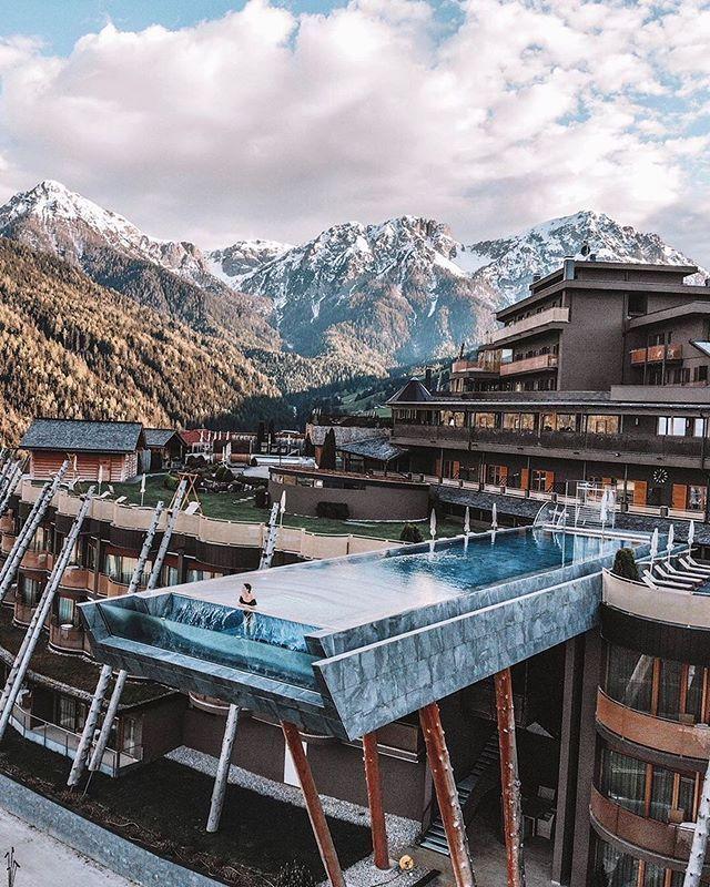 Alpin Panorama Hotel Hubertus Italy Hotels Hotel Pool Italy