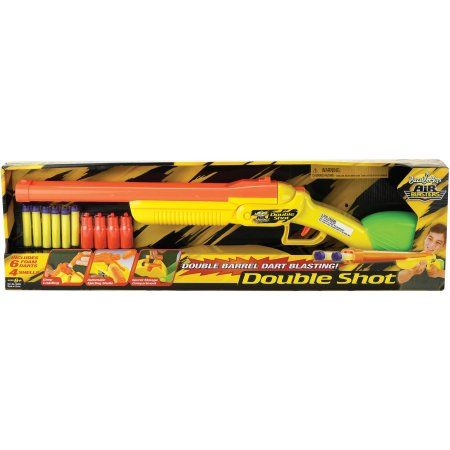 Buzz Bee Toys Air Warriors Side by Side Double Shot, Assorted
