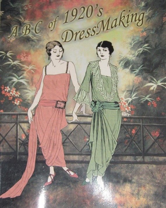1920s ABC in Dressmaking 20s Beginners Gatsby by RumbleSeatCat