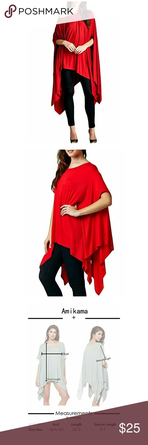 Batwing Sleeve Off Shoulder Hem Loose Cloak top Cotton Blended,soft,wrinkle-free TinyHi Women Glamour Sexy New Arrival Asymmetry Loose Tunic Tops Scoop Neck Short Sleeve Dress TinyHi Women Batwing Sleeve Off Shoulder Irregular Hem Loose Cloak Tops Tunic Loose Fit Short Sleeve Tunic with Asymmetrical Hemline able to be paired with pants or leggings underneath. Loose Fit Short Sleeve Tunic with Asymmetrical Hemline Hand Wash Cold /Do Not Bleach/Hang Dry Tops
