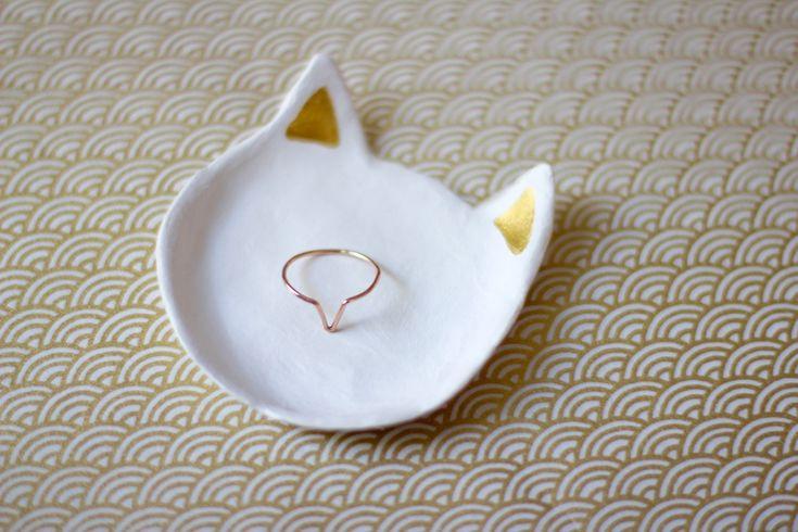 DIY coupelle bijoux façon Catbird. Photo : Les Jolis Mondes