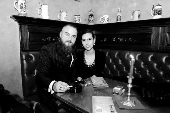 #beard #vintage #1920's #gentleman #milady