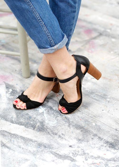 Sandales Romeo noires - Sezane