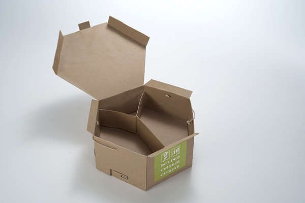 Tied Eco Takeaway - Take-Out Packaging by JoAnn Arello Contains All Food, Condiments and Cutlery (GALLERY)