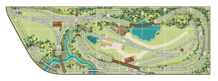 Athearn ho sd45-2, n scale model railroad track plans