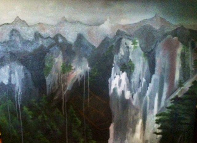 Mountains Ill never climb oil on boaud 1222 x 92
