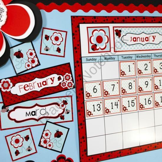 1000 images about preschool calendar printables on for Calendar bulletin board printables