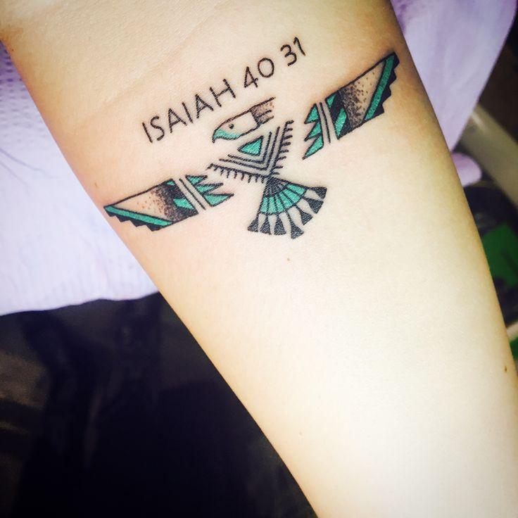 #Tattoo #Indian #Eagle #Verse