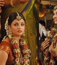 Buy Aishwarya rai fancy Red Stylish Designer saree with blouse aishwarya-rai-saree online